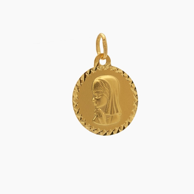 Medalla clásica con cerco