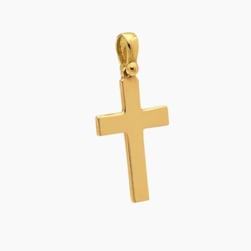 Cruz latina plana