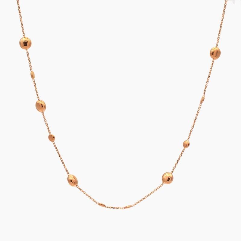Gargantilla en oro rosa - 0011