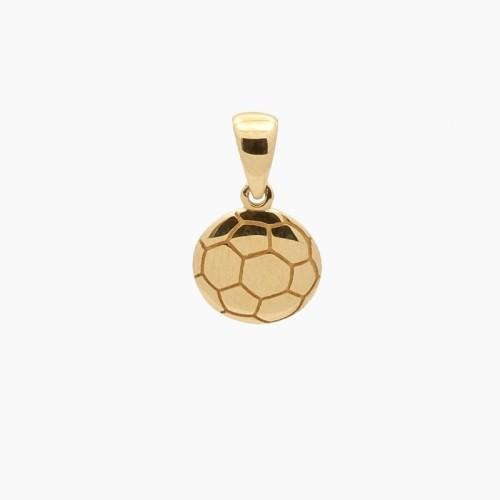 Colgante de oro en forma de balón de...