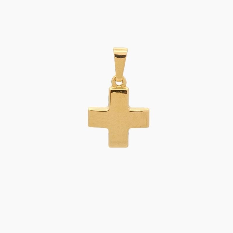 Cruz griega de oro amarillo...