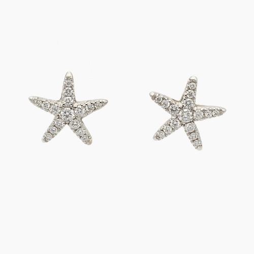 Pendientes estrella de mar con...