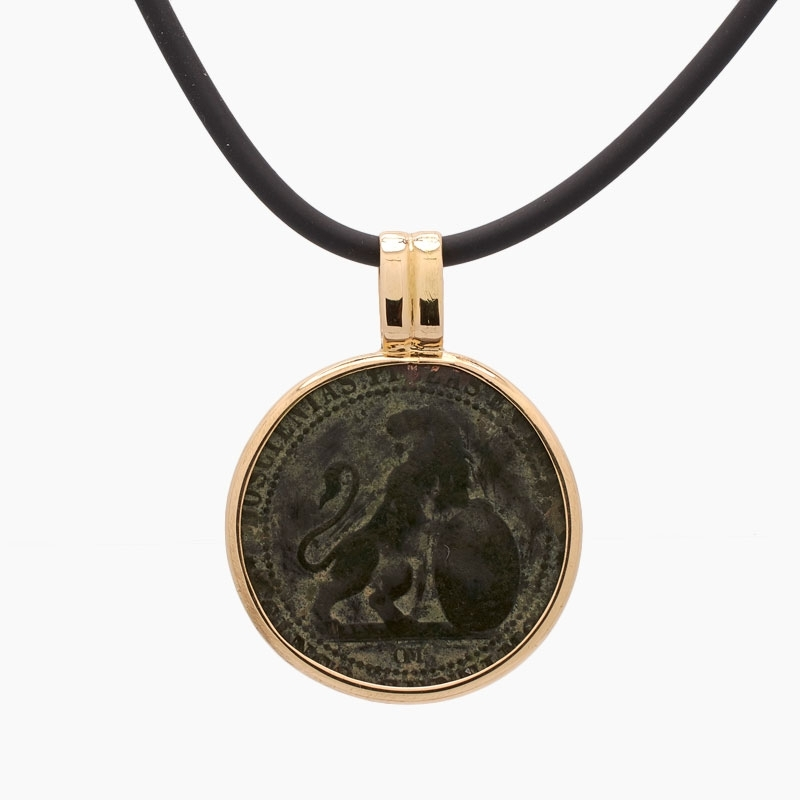 Colgante con moneda etrusca...