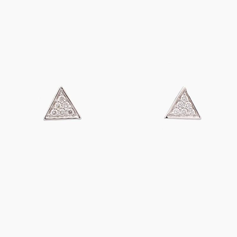 Pendientes triángulos con...