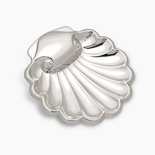 Concha de Bautismo de Plata con ondas