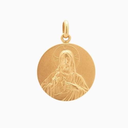 Medalla escapulario en oro de ley