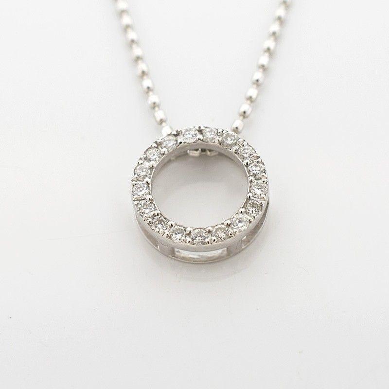 """Colgante diamantes """"círculo"""""""