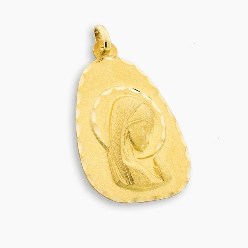 Medalla de oro en forma de gota