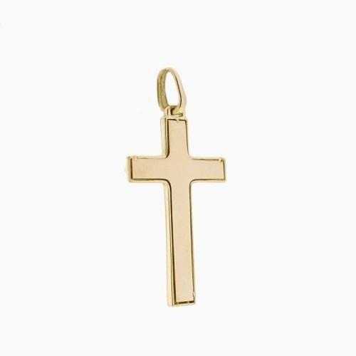 Cruz de oro en dos alturas