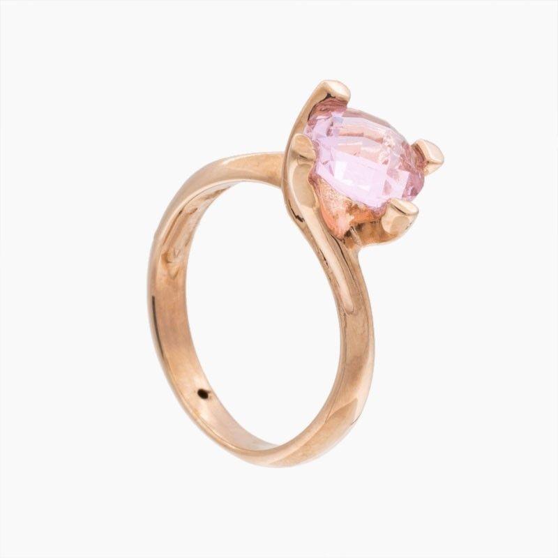 """Sortija de oro rosa """"Fashion Color"""""""